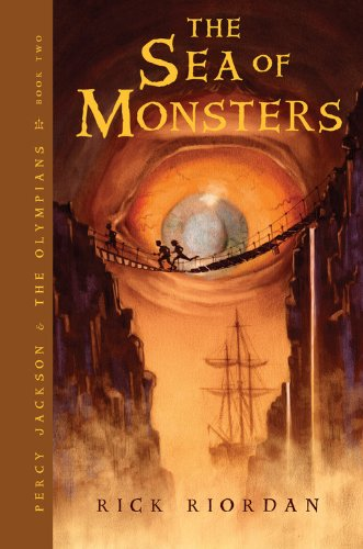 Cover of The Sea of Monsters (Percy Jackson and the Olympians, Book 2)