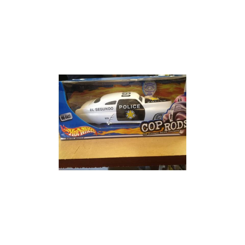 Hot Wheels Cops & Rods El Segundo Police