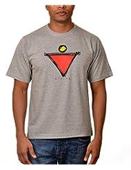 Nirvana Divine- Mens Grey Colour Round Neck Tshirts