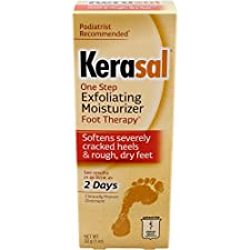 Kerasal Foot Ointment, Exfoliating Moisturizer, One Step, 1 oz (30 g)