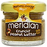 Meridian Crunchy Peanut Butter 26 g (Case of 45)