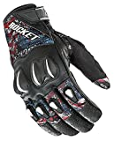 Joe Rocket Mens Cyntek Leather Motorcycle Gloves Empire Medium