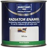 0.25LTR -JOHNSTONE'S SPECIALITY QUICK DRY RADIATOR ENAMEL WHITE