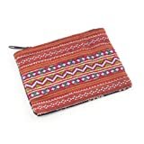 Bold Embroidery Coin Purse - Assorted Designs