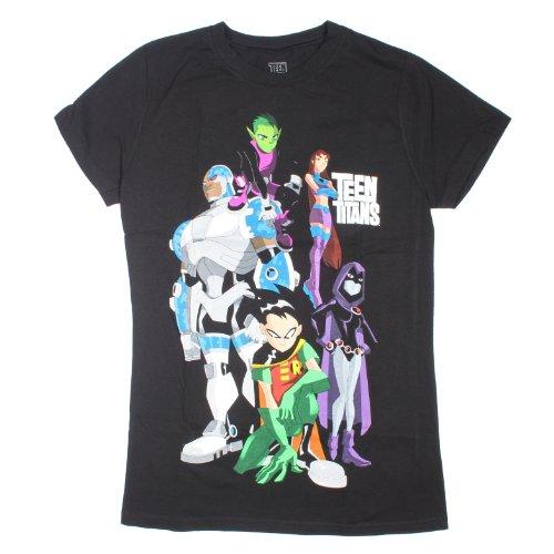Hot Topic Women's Dc Comics Teen Titans Group T-Shirt