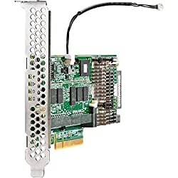 HPE Storage Controller - Plug-In Card - Low Profile Components 820834-B21, Green