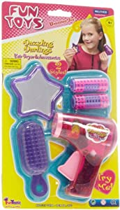 Fun Toys Hair Dryer and Accessories