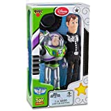 Limited Edition Talking Woody and Buzz Lightyear Action Figure Set -- 2-Pc.