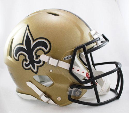 NFL New Orleans Saints Revolution Speed Mini Helmet at Amazon.com