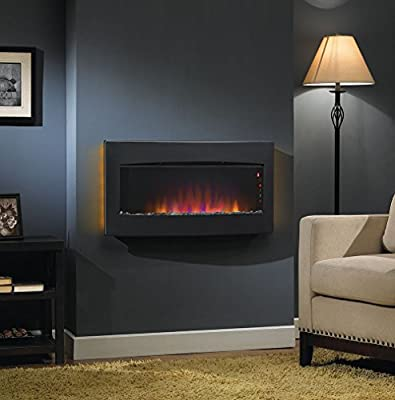 Classic Flame Serendipity Infrared Wall Hanging Fireplace Heater