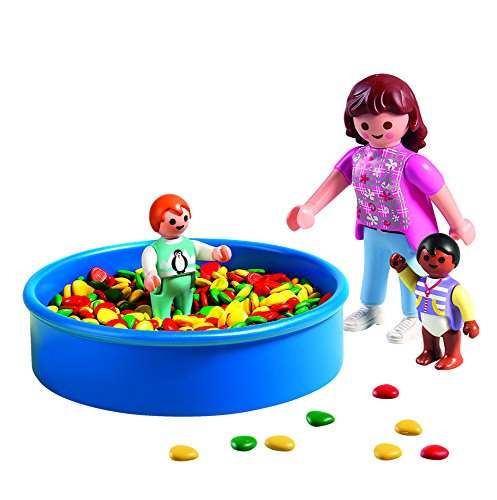 Playmobil life piscina de bolas 5572 playmobil for Piscina de bolas amazon