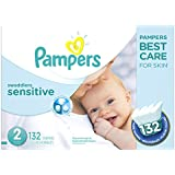Pampers Swaddlers Sensitive Diapers Super Economy Pack, Size 2, 132 Count