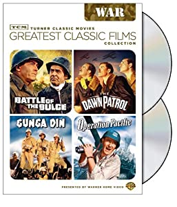 TCM Greatest Classic Films Collection: War (Battle of the Bulge / The Dawn Patrol / Gunga Din / Operation Pacific)
