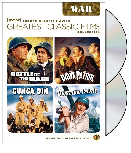 Cover art for  TCM Greatest Classic Film Collection: War (Battle of the Bulge / The Dawn Patrol / Gunga Din / Operation Pacific)