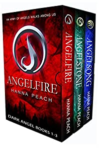 Dark Angel Box Set Books 1-3: Angelfire, Angelstone, Angelsong by Hanna Peach ebook deal