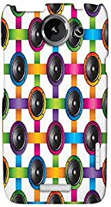 Timpax protective Armor Hard Bumper Back Case Cover. Multicolor printed on 3 Dimensional case with latest & finest graphic design art. Compatible with HTC one X+ ( Plus ) Design No : TDZ-28163
