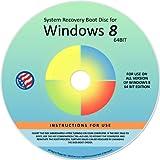 Windows 8.1 PRO 64-bit Repair Recovery Restore Re Install Fix Boot Disk DVD