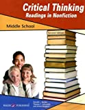 img - for Critical Thinking for Readings in Nonfiction for Middle School, Grade 5-8 book / textbook / text book