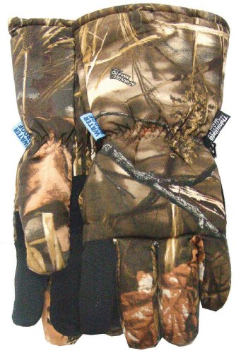 MidWest Gloves 321TH-L-MX Advantage Max 4 Camo Waterproof Insulated Glove, Large