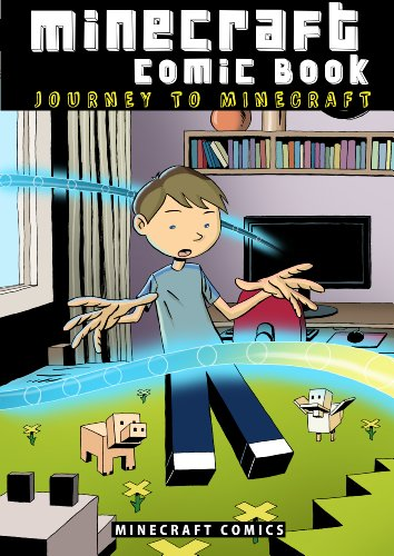 Free Kindle Book : Minecraft Comic Book: Journey to Minecraft (CreeperSlayer12 series, Part 1)