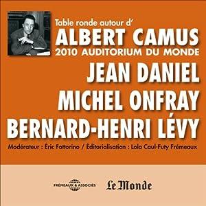 Table Ronde autour d'Albert Camus Rede