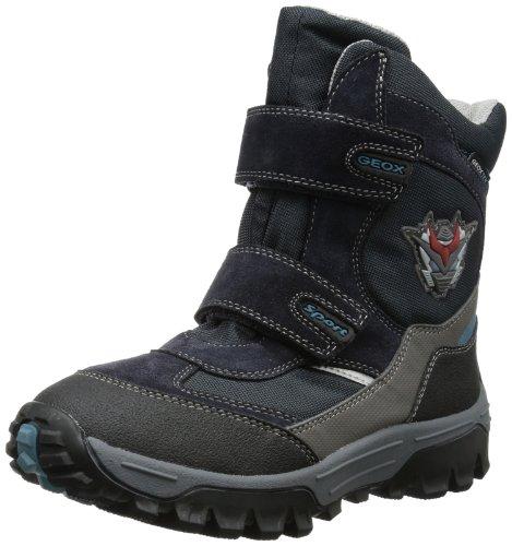 Geox Boys J LT HIMALAYA WP A Snow Boots Blue Blau (NAVY/AVIO C0700) Size: 31