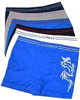 UOMO 4er Pack Jungen Boxershorts viele Farben und Designs