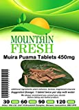 Muira Puama Tablets 60 x 450mg FREE UK Postage by Mountain Fresh
