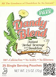 Dandy Blend Instant Herbal Beverage with Dandelion -- 25 Pouches