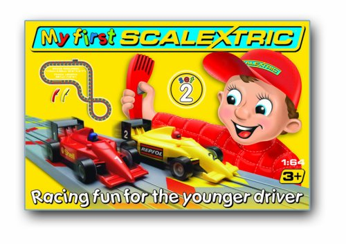 Micro Scalextric G1047 My First Scalextric 2 1:64 Scale Race Set