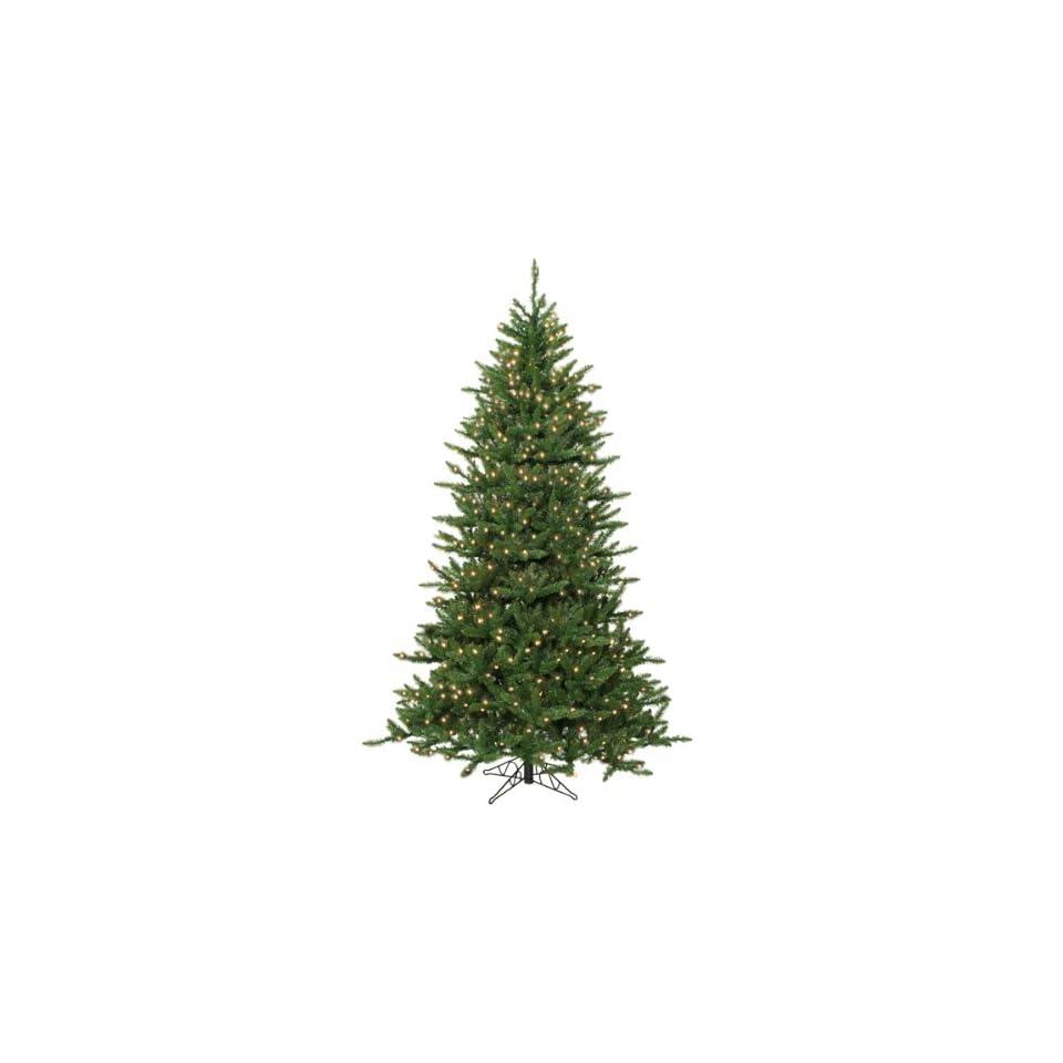 14 Pre Lit Frasier Fir Artificial Christmas Tree & Stand   Clear Dura Lights