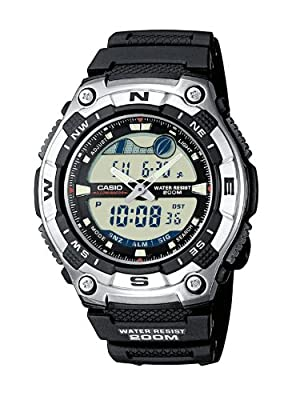 Casio AQW-100-1AVEF Mens Resin Combi Watch by Casio