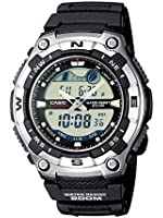 Casio AQW-100-1AVEF Men's Resin Combi Watch