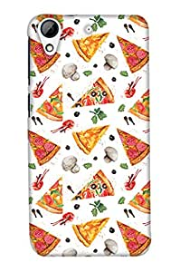 Print Haat Back Case Cover for HTC 626 (Multicolor)