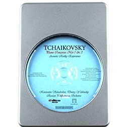 Piano Music Adventure: Tchaikovsky - Piano Concertos Nos. 1&3 - 7.1 DTS-HD 3D Sound Blu-ray Audio Signature Series