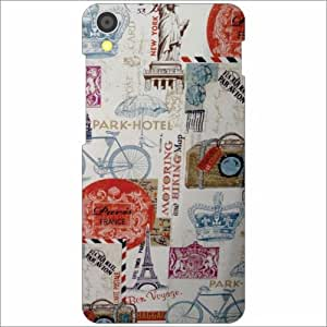 Lenovo S850 Back Cover - Creative Designer Cases