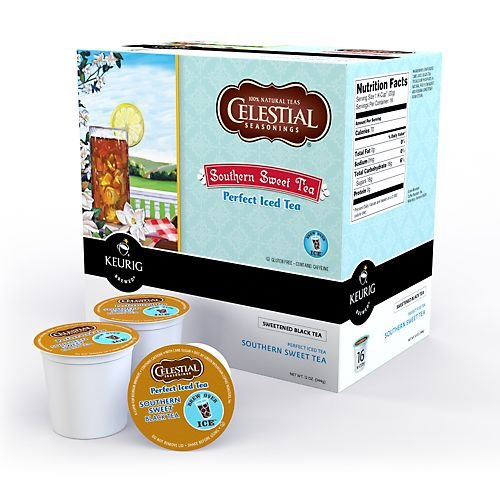 Celestial Perfect Iced Tea Southern Sweet Keurig K-Cups, 16 Count front-63709