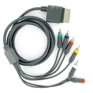 KOO Interactive - Cable YUV Audio Video Composante HD - pour console Microsoft Xbox 360