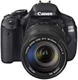 Canon EOS 600D SLR-Digitalkamera (18 Megapixel, 7,6 cm (3 Zoll) schwenkbares Display, Full HD) Kit inkl. EF-S 18-135mm 1