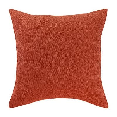 Stylish Solid Red Polyester Decorative Pillow Cover coupon codes 2015