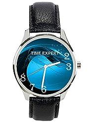 Time Expert Analogue Blue Dial Men's Watch - TE100196