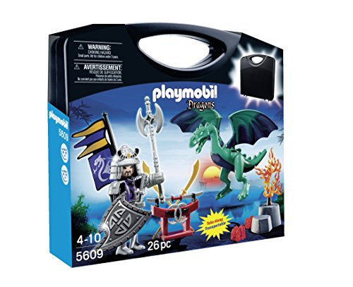 PLAYMOBIL Carrying Case Dragon Knight Playset
