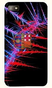 Brilliant multicolor printed protective REBEL mobile back cover for Blackberry Z10 D.No.N-L-12698-BBZ10