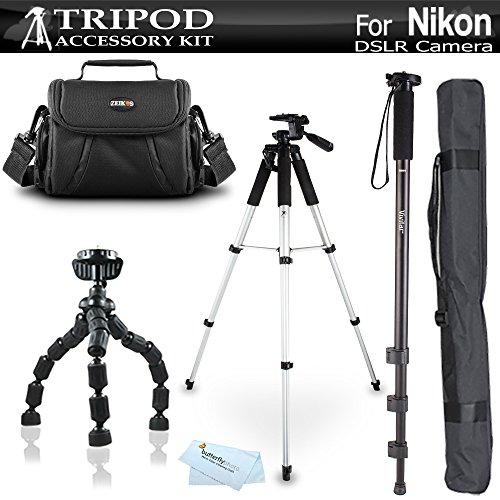Tripod Bundle Kit For Nikon Df