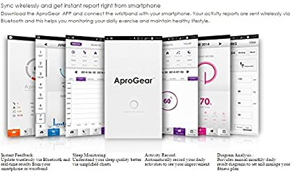 Aprolink BND04 AproGear Bluetooth Wristband