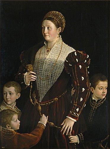oil-painting-parmigianino-camilla-gonzaga-countess-of-san-segundo-and-her-sons-ca-1534-printing-on-p