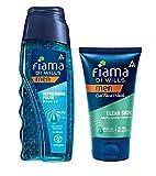 Fiama Di Wills Men Refreshing Pulse Shower Gel, 250ml Free Fiama Clear Skin Gel Face Wash, 50ml
