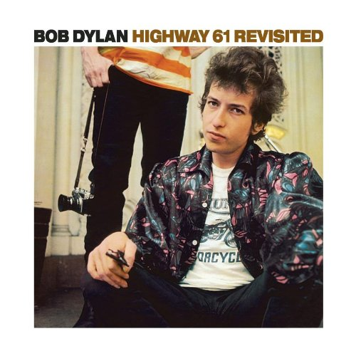 Original album cover of Highway 61 Revisited by Bob Dylan