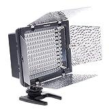 YONGNUO Pro LED Video Light YN-160 for Canon 5D,7D,50D,60D,500D,550D,600D,1000D,1100D,Nikon D700,D300,D400.D200,D90,D60,D3,D2,D1,D7000,D5000,D3100,D3000,Olympus E620,E520,E510,E500,E420,E3,E1,E-P3,EP2,EPL-3,EPL-2,Panasnic LX5,GH1 GF1 GF2,Pentax,Fuji,Sony