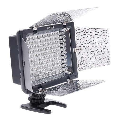 Yongnuo Yn-160 Led Video Light For Canon Nikon Olympus Slr Camera Camcorder